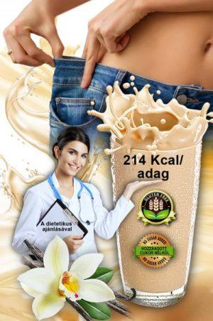 FEDBOND® EXPRESS Vaníliás Krémsüti ízű diétás fehérjeturmix illustráció
